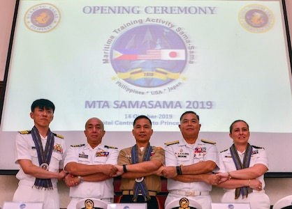 U.S., Philippines, Japan kick off Maritime Training Activity Sama Sama