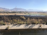Fire Contained after Spreading onto Camp Williams