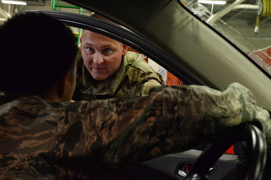 Logistics Airmen encourage vehicle winter readiness