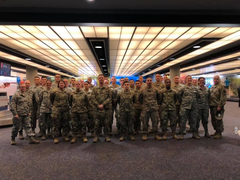 43nd APS supports Connecticut Honor Flight