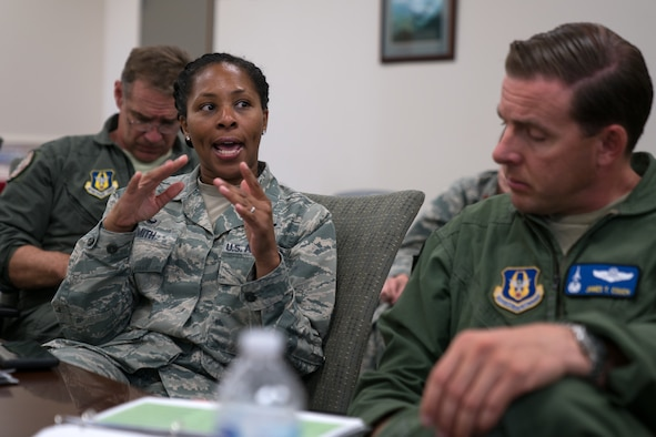 413th FTG leaders discuss strategy, process improvement during conference