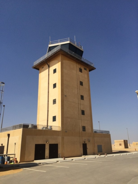 Peace Vector VII Program Air Traffic Control Tower at Cairo West Air Base, Egypt