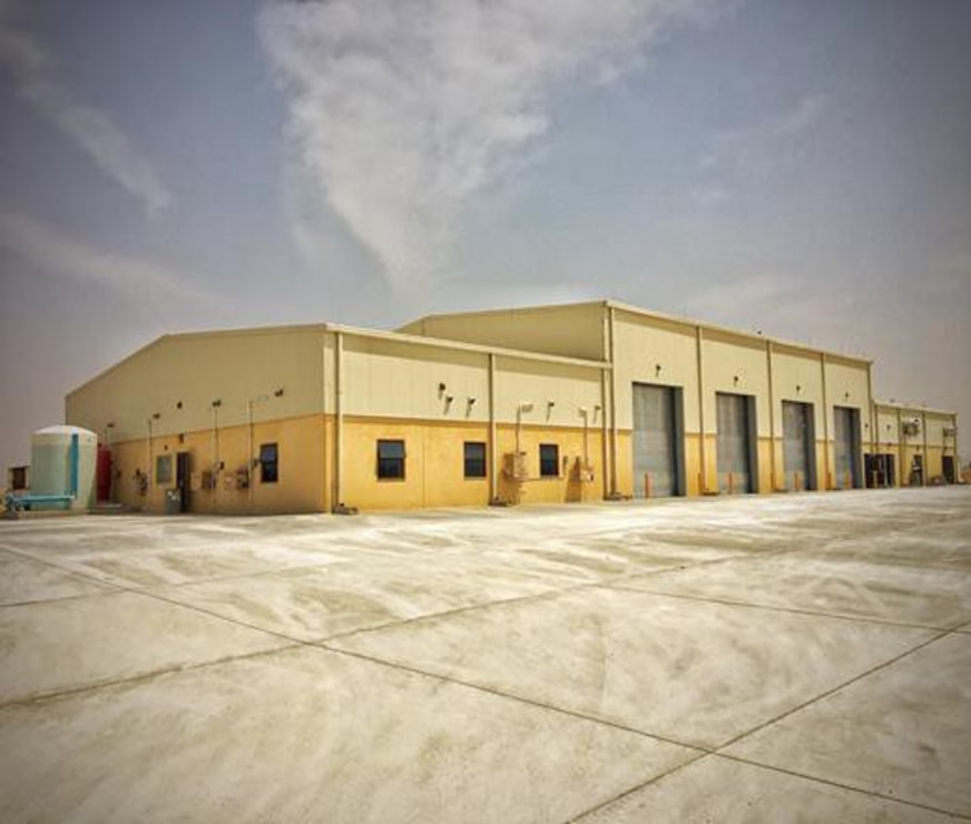 Peace Vector VII Program Vehicle Maintenance Facility at Cairo West Air Base, Egypt
