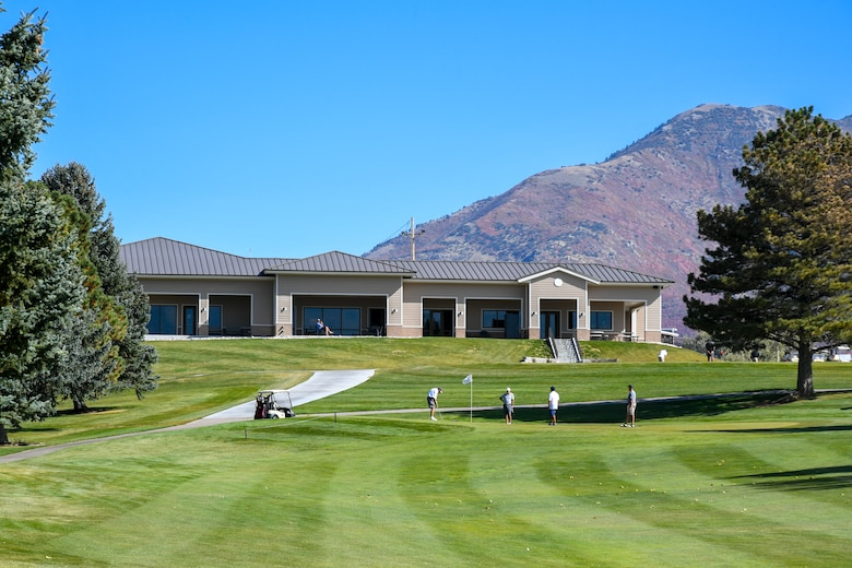 Nestled among the trees east of the flightline is one of the base's best kept secrets, the Hubbard Memorial Golf Course. The course recently received a new $5 million clubhouse facility. The new clubhouse has a large event room, a restaurant and bar, locker rooms and a full pro shop.