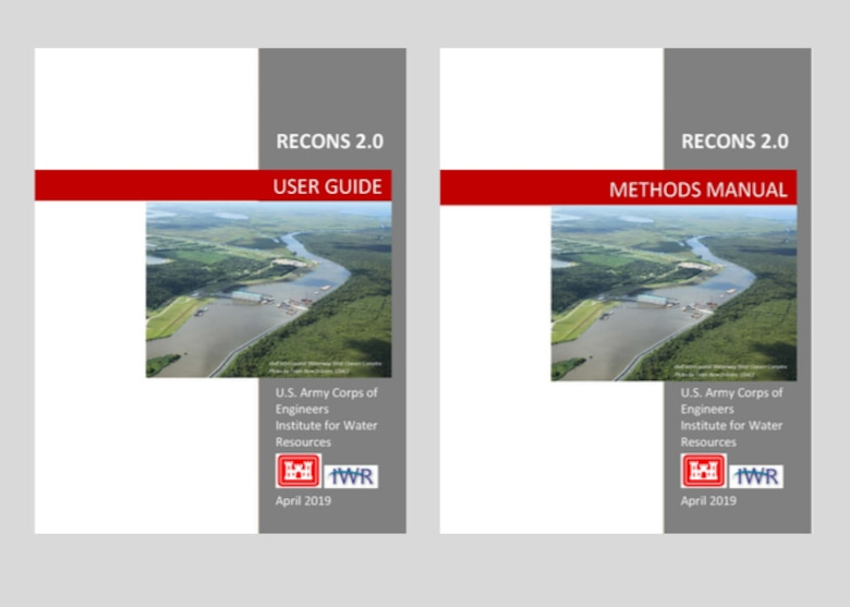 This is a graphic showing the new covers for the User Guide and Methods Manual