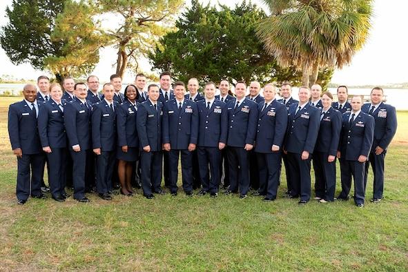United States Air Force's inaugural class of Multi-Domain Warfare Officer Initial Skills Training graduates, Class 19-B