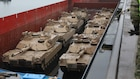 1st Cavalry Division arrives in Europe in support of Atlantic Resolve
