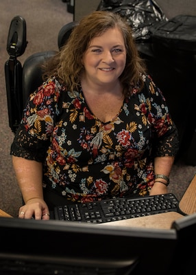 Allison Roberts, computer scientist at the Naval Surface Warfare Center Panama City Division (NSWC PCD), is featured as NSWC PCD's disability employment awareness month spotlight.