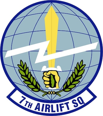 7th Airlift Squadron Patch