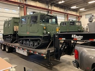 A Colorado National Guard Small Unit Support Vehicle used to respond to blizzards, floods and other domestic events. The SUSVs are also used by infantry troops, special forces teams and others to traverse challenging terrain during overseas contingency operations.