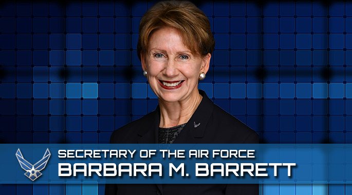 Portrait of Barbara Barrett, Secretary of the Air Force