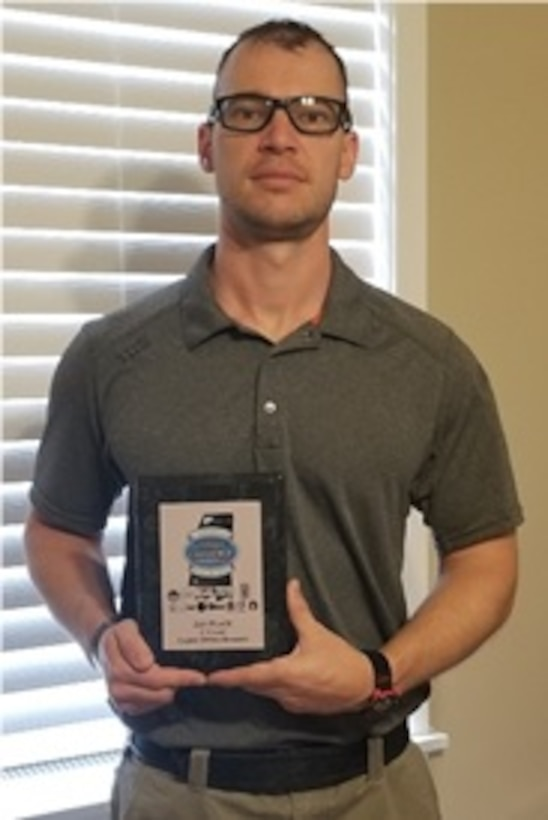 Maj. Jesse Campbell (412th Theater Engineer Command) won his skill Classification in the Carry Optics Division. He has seen the benefits of such events as directed by Army Regulation for all Soldiers and would like better support from his Major Command leadership.