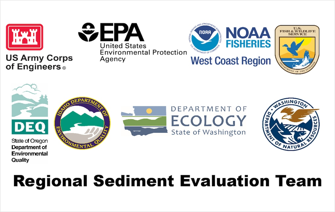 Northwestern Regional Sediment Evaluation Team (RSET) agencies.