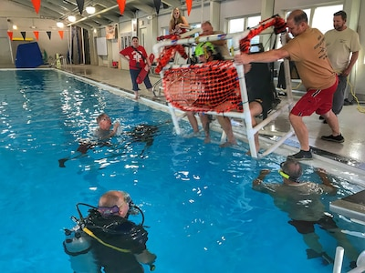 28th ECAB trains for water survival