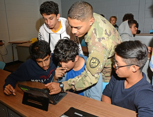 Meet Your Army - STEM student outreach