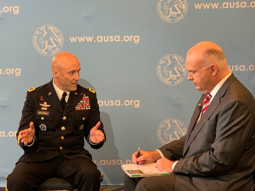 US Army's comptroller on managing the budget of the largest armed service