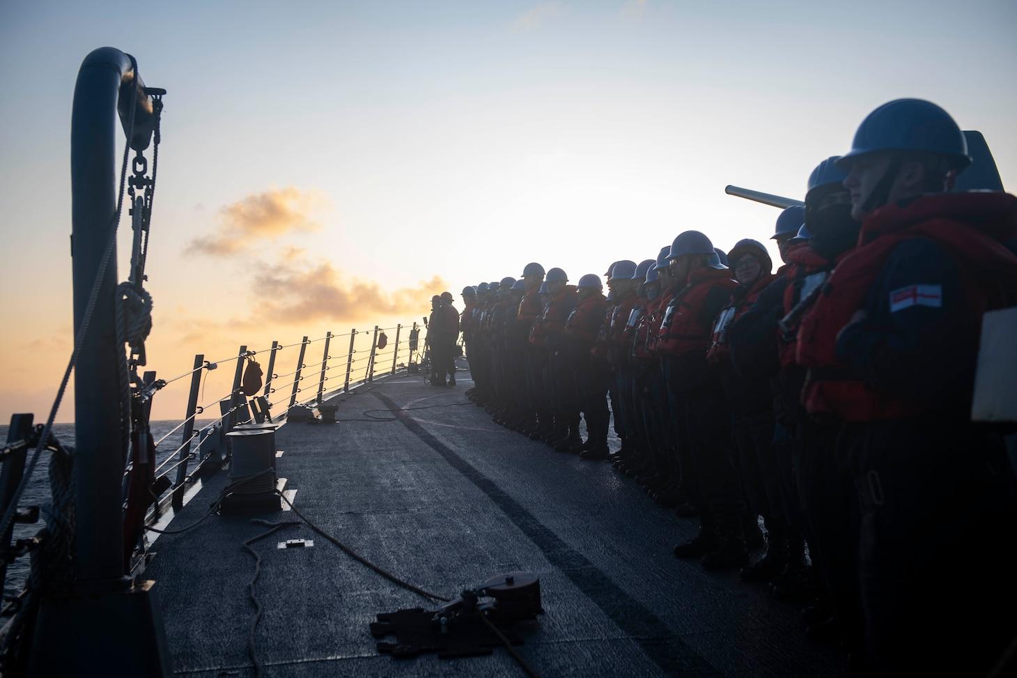 USS Donald Cook (DDG 75); Arctic Ocean