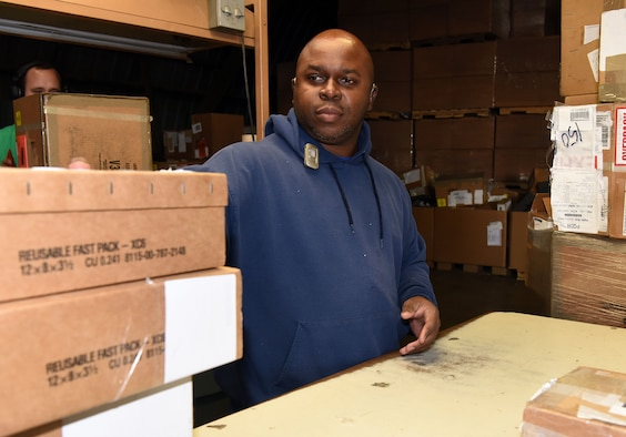 DLA box cleaning worker keeps solid work ethic, positive attitude despite visual, hearing impairments