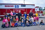 DLA Susquehanna Child Development Center tours firehouse during National Fire Prevention Week