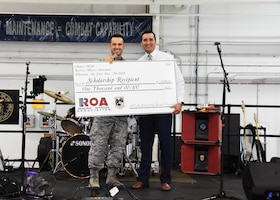 ROA awards scholarship to 442 AMXS spouse