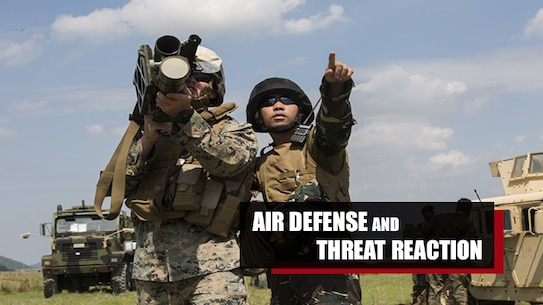COLONEL ERNESTO P. RAVINA AIR BASE, Philippines — U.S. Marines and Philippine Airmen conducted air defense and ground threat reaction training as part of Exercise KAMANDAG 3 at Colonel Ernesto P. Ravina Air Base, Philippines, Oct. 10-14, 2019.