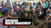SUBIC BAY, Philippines – Service members from the United States Navy, Philippine Marine Corps, Philippine Air Force and Japan Ground Self-Defense Force led multiple cooperative health engagements and community relations events as part of a humanitarian and civic assistance effort during exercise KAMANDAG 3 at several locations throughout Luzon, Philippines, Oct. 9-17, 2019.