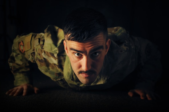 U.S. Air Force Staff Sgt. Christopher Kervick, a cyber security specialist assigned to the Ohio National Guard's 180th Fighter Wing, was the first and only Airman to have participated in the Ohio Army National Guard Modern Combatives Tournament, held Sept. 14, 2019 at the Maj. Gen. Robert S. Beightler Armory in Columbus, Ohio. After 19 years, the tournament opened its registration to Ohio Air National Guard Airmen. Kervick brought home a silver medal in the middleweight division. (Air National Guard photo by Senior Master Sgt. Beth Holliker.)