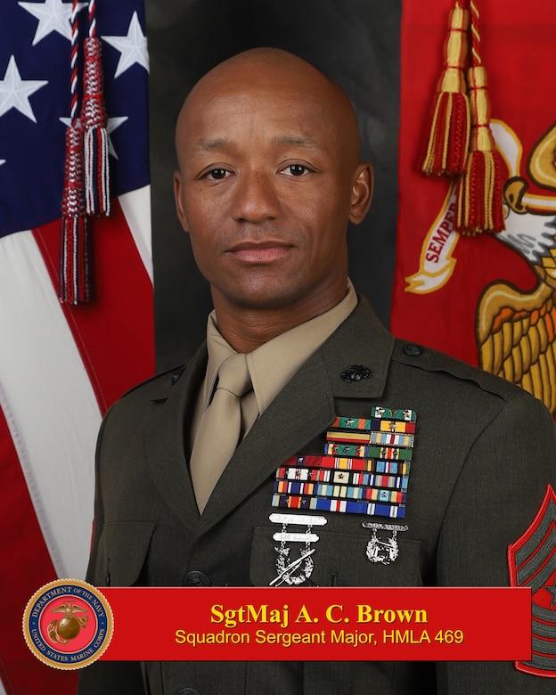 Sergeant Major Alex C. Brown