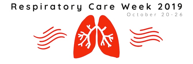 Respiratory Care Week runs from October 20-26 this year as part of Healthy Lung Month.