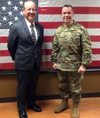 DLA Aviation commander meets with Richmond VA Medical Center leadership, tours facility