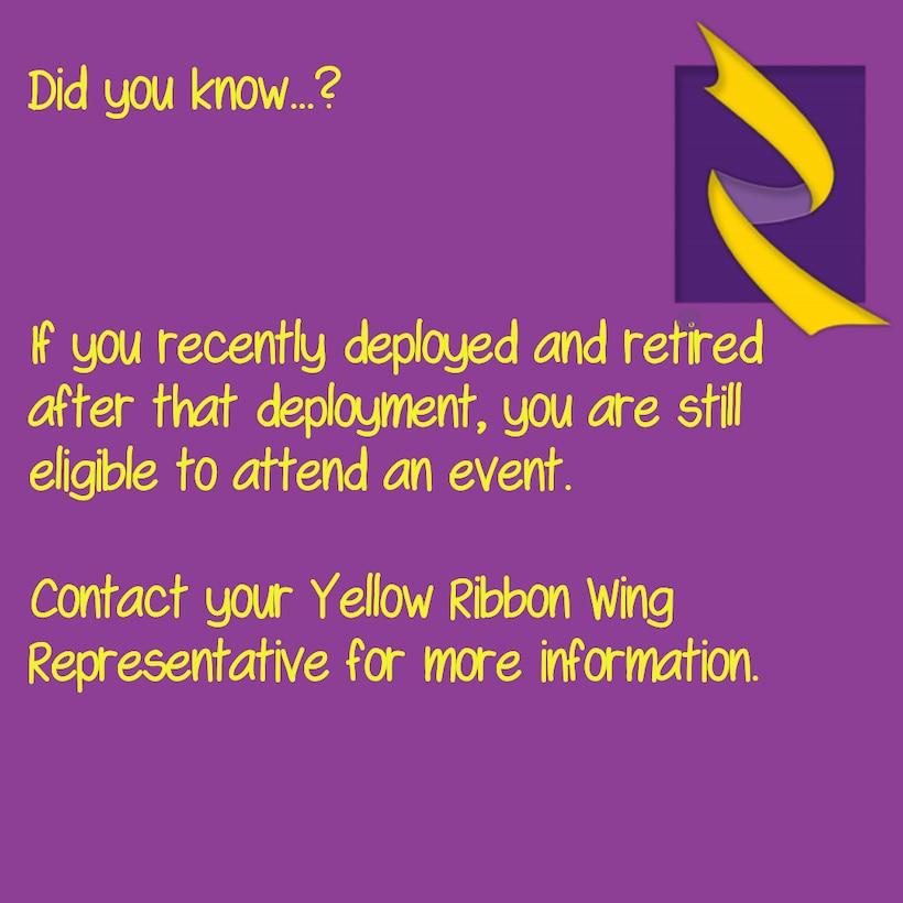 Information on Yellow Ribbon.