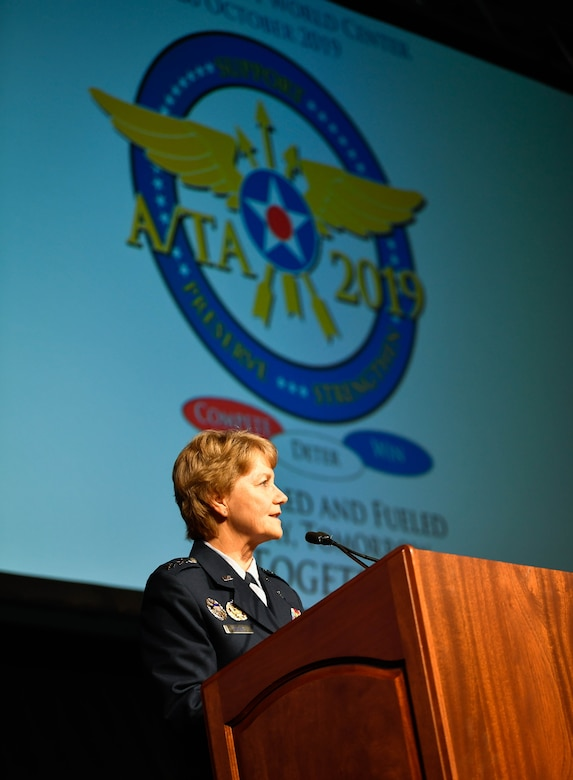 Air Mobility Command Airmen gather for professional development at the 2019 Airlift/Tanker Association's 51st A/TA Convention, Technology Expo and Industry Interface Oct. 23-26 in Orlando, Fla.