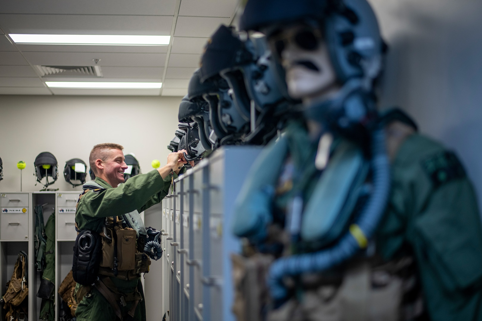 US Air Force Exchange Officer Soars with Partners Down Under