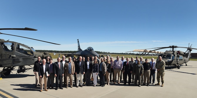 South Carolina Military Base Task Force visits the SCANG