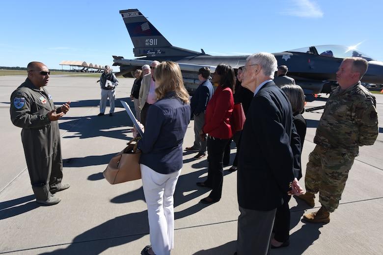 South Carolina Military Base Task Force visits the SCANG