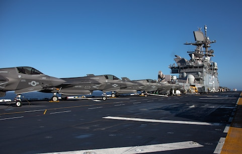 All 3rd MAW, All Ready: The Most F-35B Lightning IIs EVER at Sea
