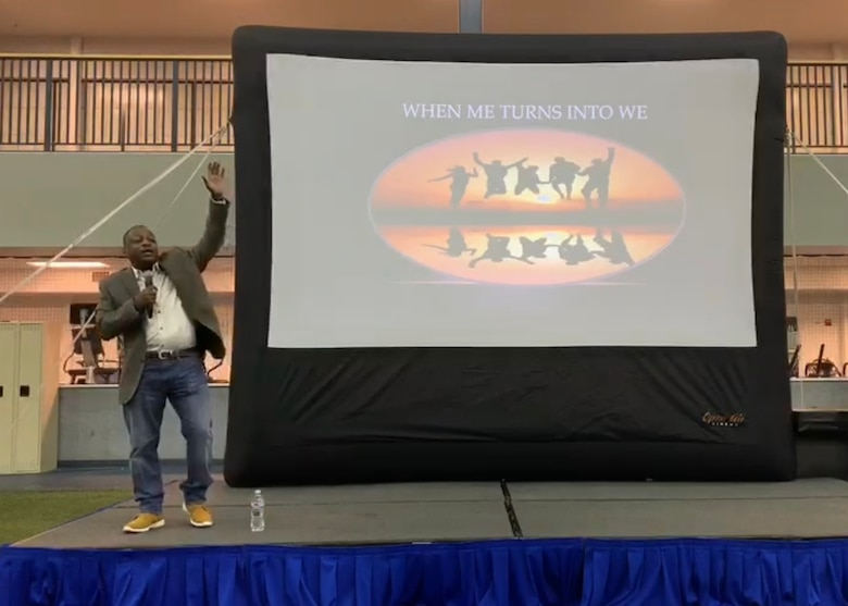 The 354th Fighter Wing hosted a resiliency day event focused on wellness and personal development while encouraging Airmen and their families to be more proactive about taking care of themselves and each other. (Courtesy photo)
