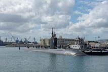 Homeport and Command of USS Springfield Changes after Pearl Harbor Arrival
