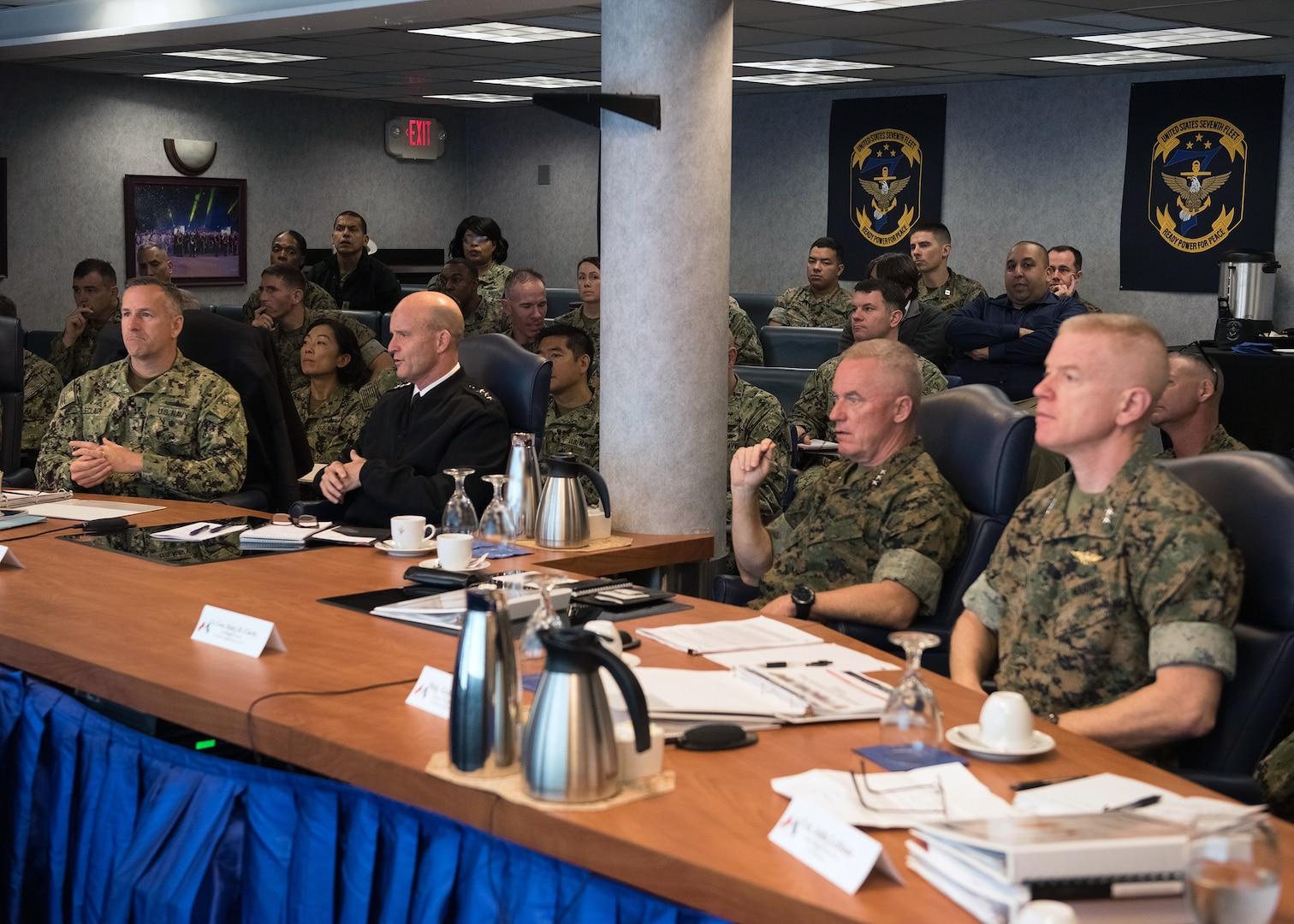 III MEF and 7th Fleet Join for Staff Talks in Yokosuka