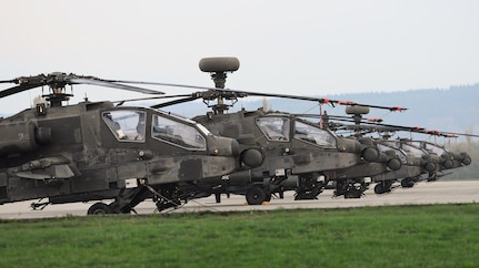 3rd Infantry Division arrives in Illesheim in support of Atlantic Resolve