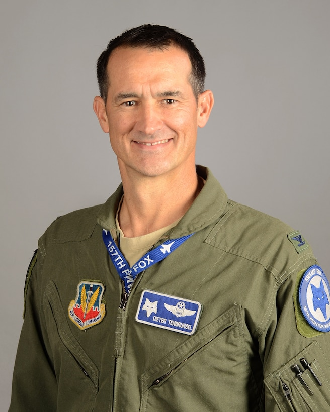 Col. Brian Tenbrunsel, commander of the 169th Operations Group