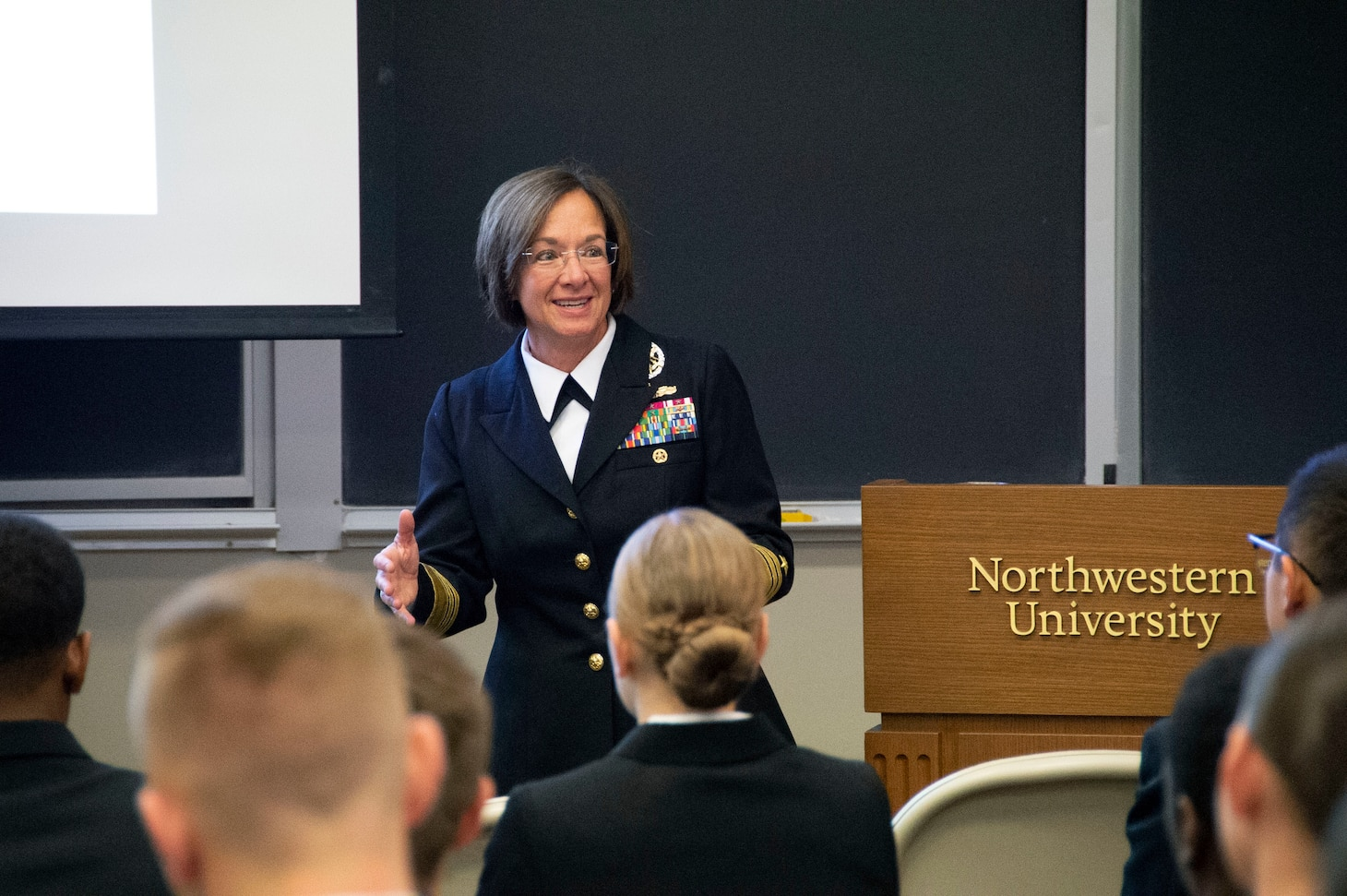 Vice Adm. Franchetti; Great Lakes; U.S. 6th Fleet