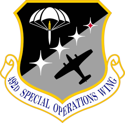 Graphic image for 492d Special Operations Wing.(U.S. Air Force Graphic)