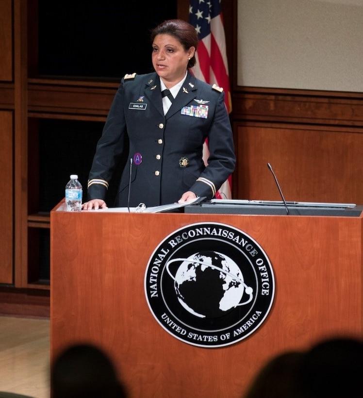 First Latina Black Hawk Pilot