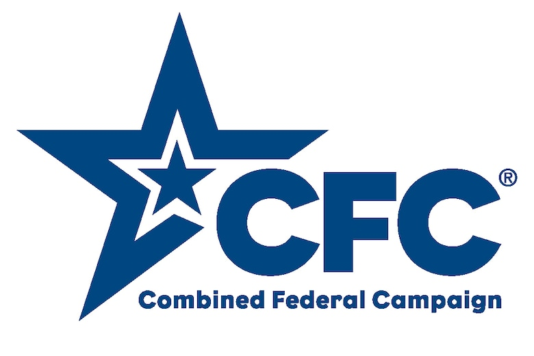 Combined Federal Campaign logo, white star inside of blue start with the initials CFC