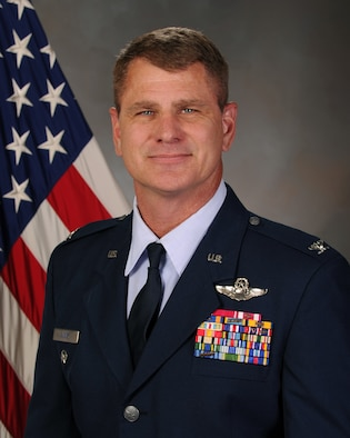 Col. Brian Silkey, 419th Fighter Wing vice commander