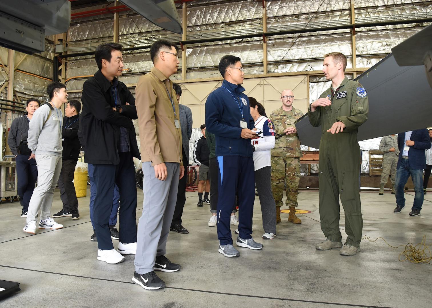 U.S. Air Force, Republic of Korea AF Legal Teams Celebrate Friendship Day
