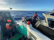 Coast Guard Cutter Stratton Conducts Fisheries Patrol en route Guam from Philippines