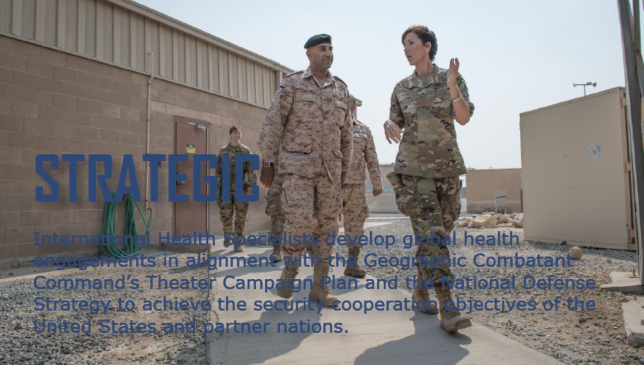 International Health Specialists - Strategic