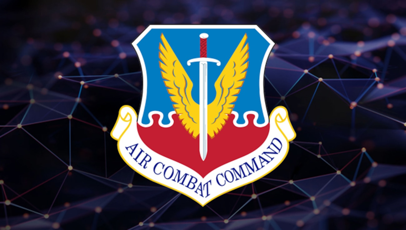 Air Combat Command Shield Graphics (U.S. Air Force graphic)